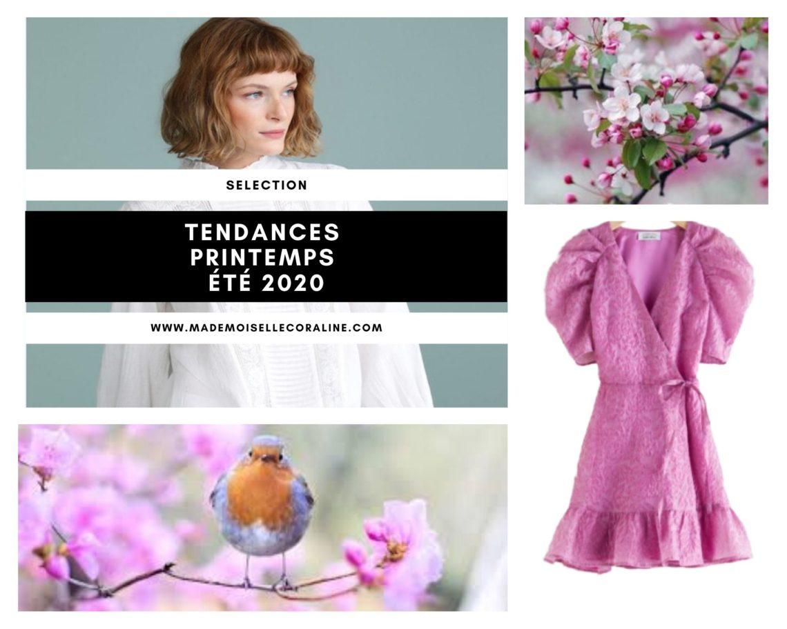 Tendances printemps-été 2020