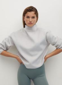 sweat à col montant sélection homewear 2020 mademoiselle coraline