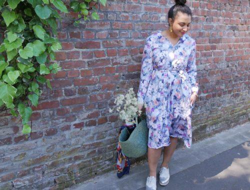 Couture : la robe bohème et printanière Pola de Fibremood