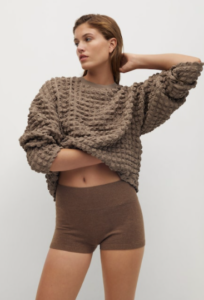 pull over texturé mango selection loungewear 2020
