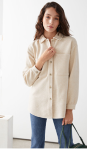 Veste oversize and other stories sélection loungewear 2020 mademoiselle coraline